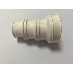 White 3 outlet adapter