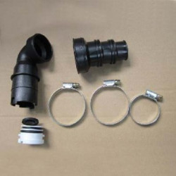 Complete elbow pipe with...