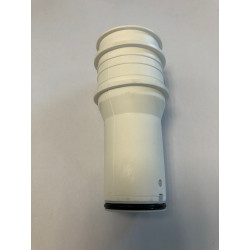 Upper discharge pipe white