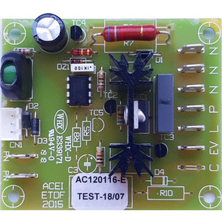 Circuit board for the Sanicompact